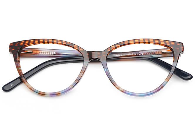 Heidi Spring Hinge Cat Eye Eyeglasses