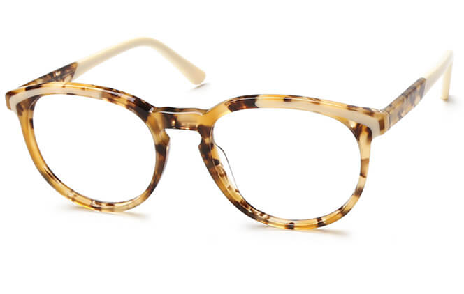 Keeley Spring Hinge Oval Eyeglasses, Other;tortoiseshell;purple