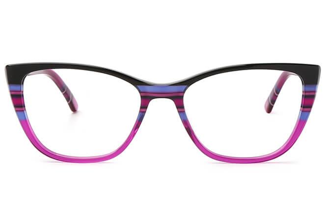 Alison Spring Hinge Cat Eye Eyeglasses