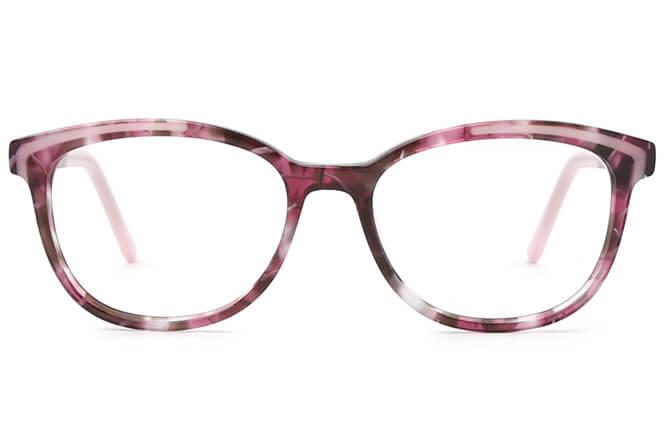 Katherine Spring Hinge Oval Eyeglasses