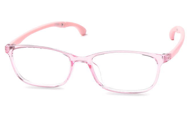 Keane Anti-Slip Rectangle Eyeglasses, Black;purple;pink;light pink
