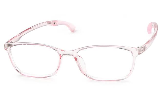 Keane Anti-Slip Rectangle Eyeglasses, Black;purple;pink;light pink