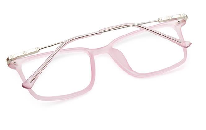 Nicole rectangle spring hinge Eyeglasses