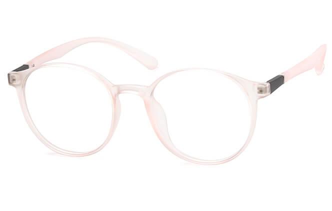 Twiggy Round Eyeglasse, Pink