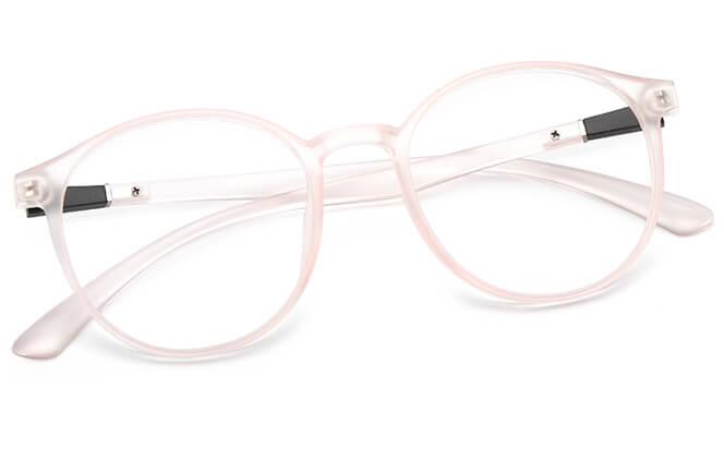 Twiggy Round Eyeglasse