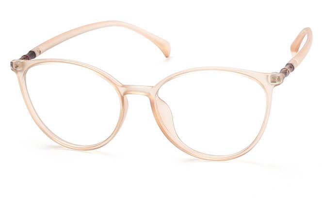 Twiggy Round Eyeglasse, Black;champagne;pink