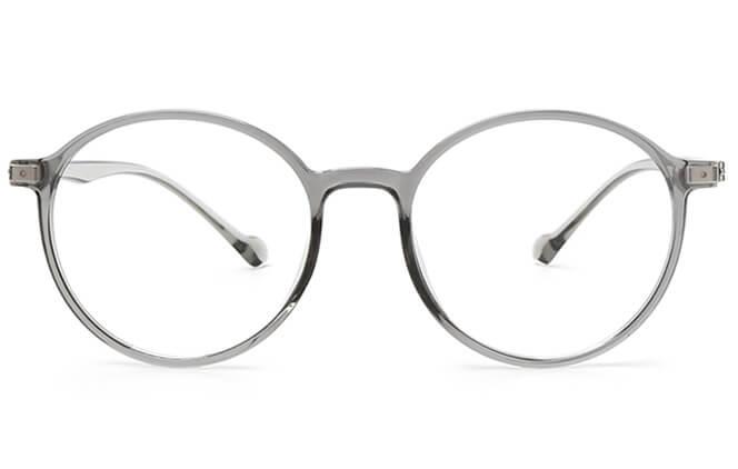 Leslie Round Eyeglasses