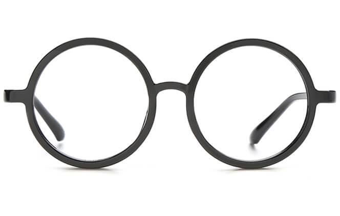 Ash Round Eyeglasses