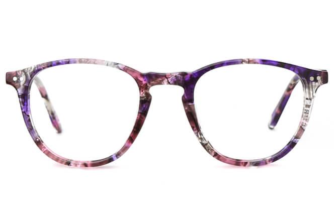 Dabora Spring Hinge Round Eyeglasses