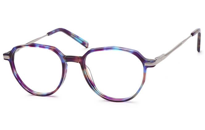 Olive Spring Hinge Oval Eyeglasses фото