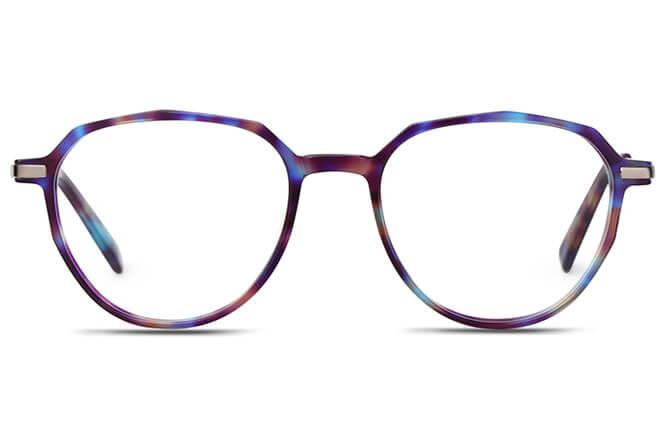 Olive Spring Hinge Oval Eyeglasses