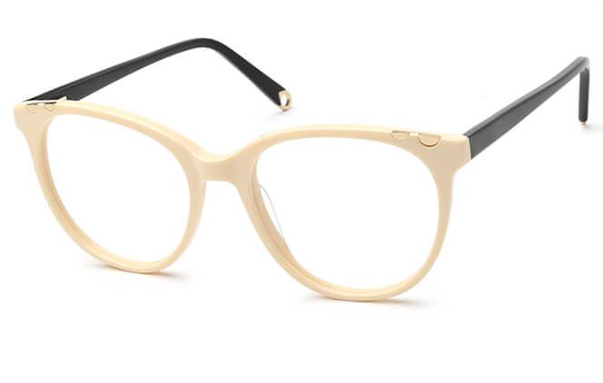 Poppy Spring Hinge Oval Eyeglasses фото