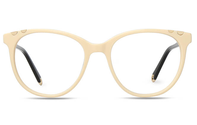 Poppy Spring Hinge Oval Eyeglasses
