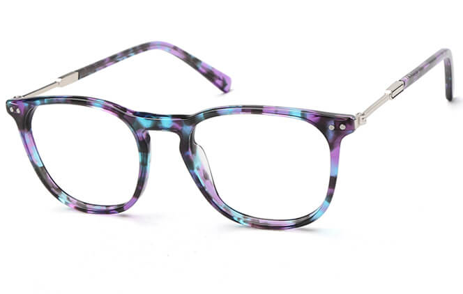 Brianna Square Eyeglasses, Floral