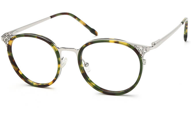 Suzie Spring Hinge Cat Eye Eyeglasses фото