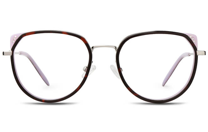 Britt Spring Hinge Cat Eye Eyeglasses