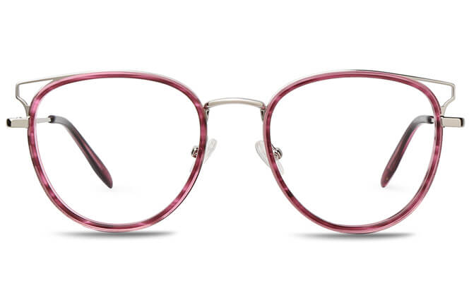 Marianne Spring Hinge Cat Eye Eyeglasses