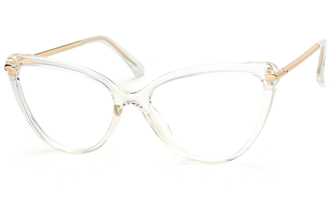 Bella Cateye Eyeglasses, Clear