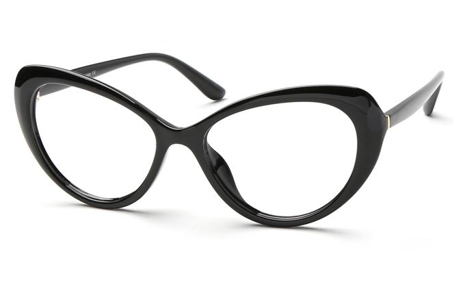 Marisa Cateye Eyeglasses, Black;tortoiseshell;black&white