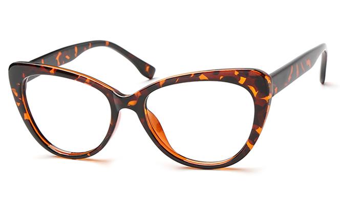 Mariacarla Spring Hinge Cateye Eyeglasses, Floral;black;tortoiseshell