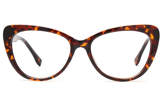 Mariacarla Spring Hinge Cateye Eyeglasses