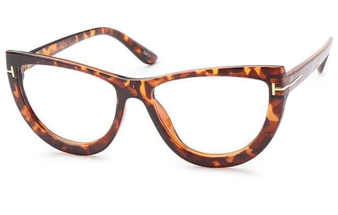Dione Spring Hinge Cat Eye Eyeglasses фото