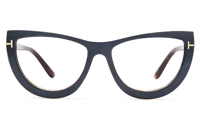 Dione Spring Hinge Cat Eye Eyeglasses
