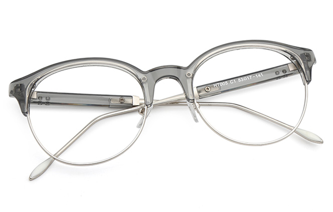 Stephanie Browline Eyeglasses