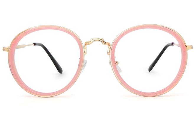 Claudia Round Eyeglasses