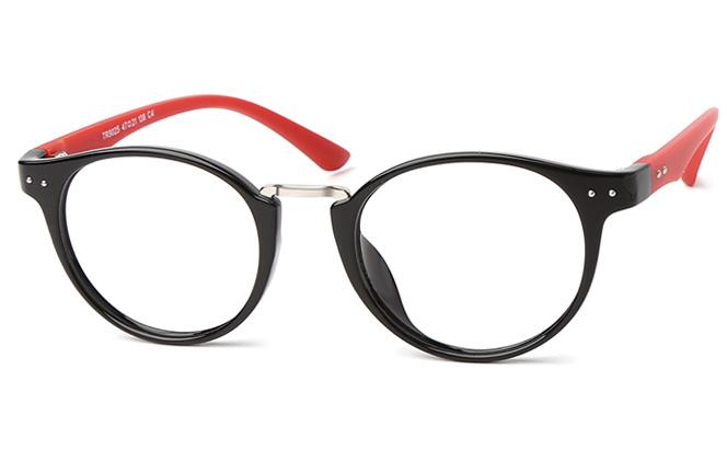 Aveline Oval Eyeglasses, Blue;purple;red;black