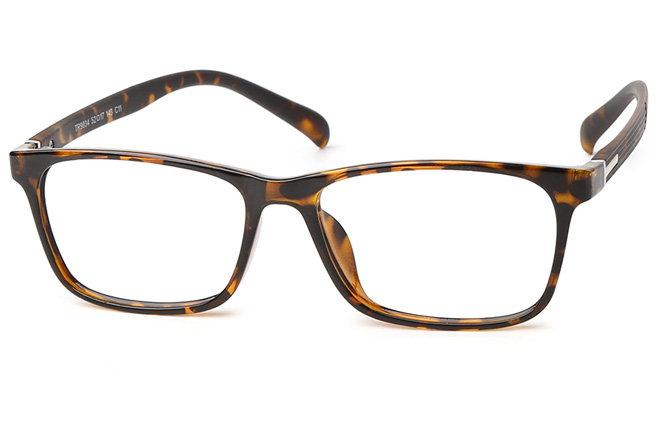 Malcolm Rectangle Eyeglasses, Blue;red;black;tortoiseshell