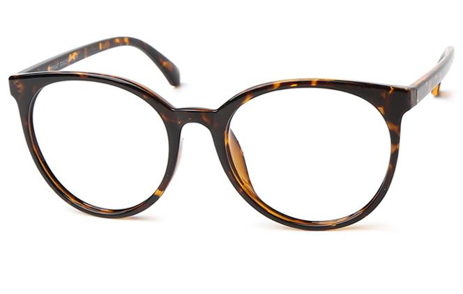 Vanessa Round Eyeglasses, Purple;tortoiseshell;matte black