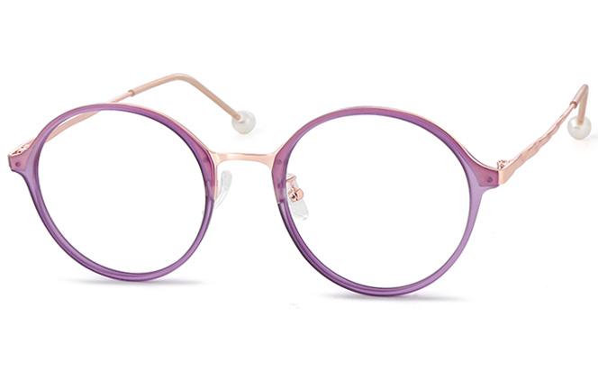Juno Round Eyeglasses фото