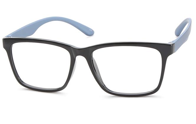 Beth Rectangle Eyeglasse, Green;pink;black