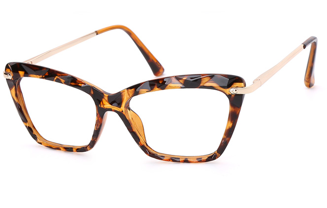 Dinah Cateye Eyeglasses, Black;blue;clear;tortoiseshell;brown