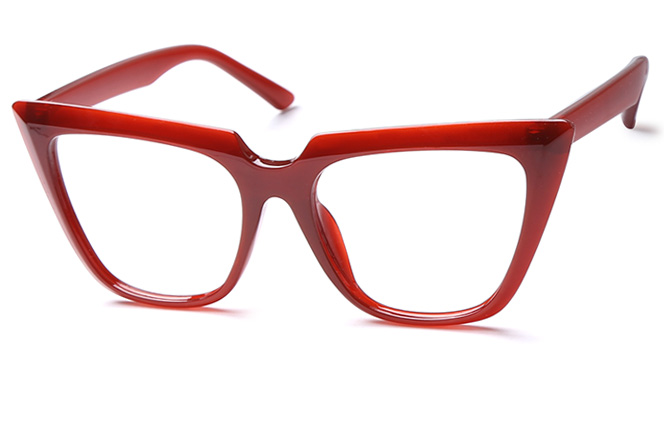 Sharon Cateye Eyeglasses, White;red;black;tortoiseshell;grey