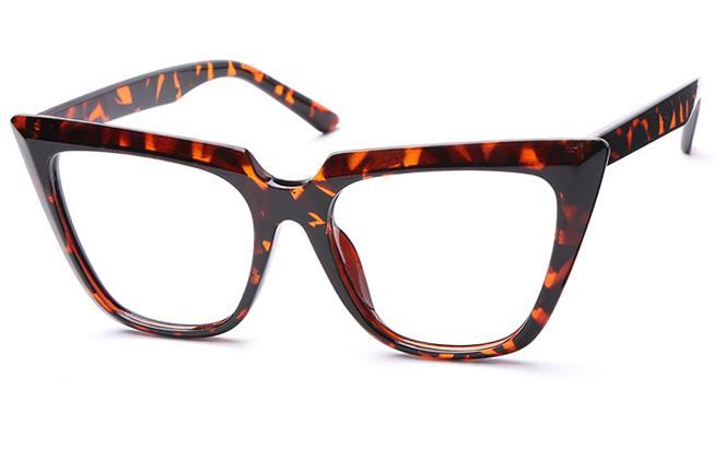 Sharon Cateye Eyeglasses, White;black;tortoiseshell;grey
