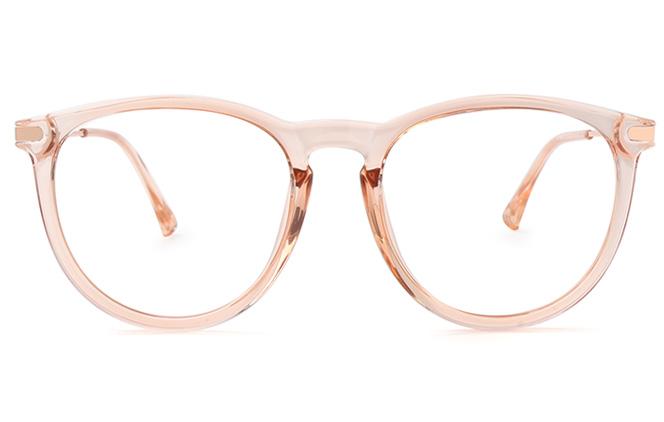 Natalya Round Eyeglasses