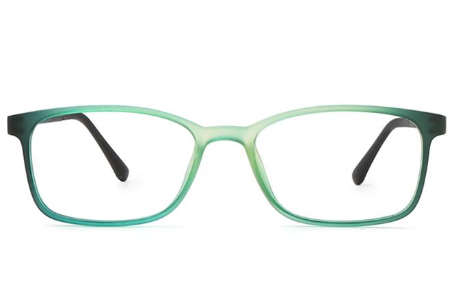 Dame Rectangle Eyeglasses