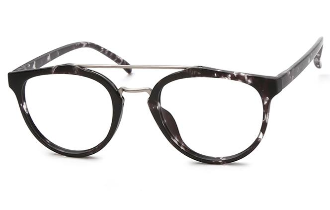 Elodie Aviator Eyeglasses, Matte black
