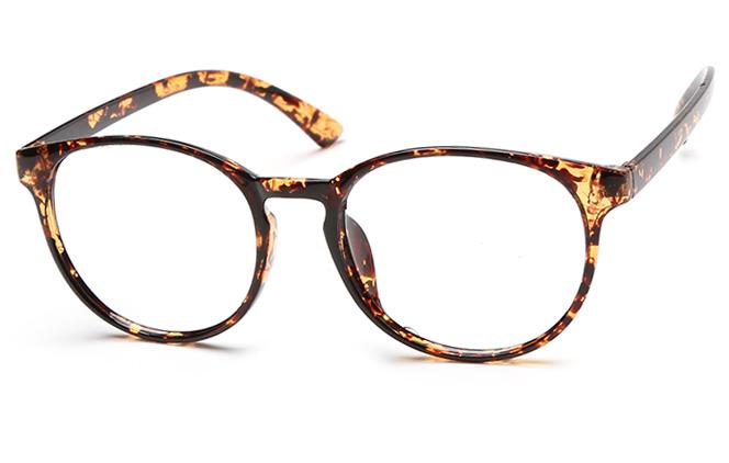 Sharla Oval Eyeglasses, Tortoiseshell;floral