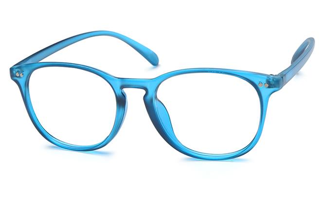Nicole Oval Eyeglasses, Black;tortoiseshell;blue