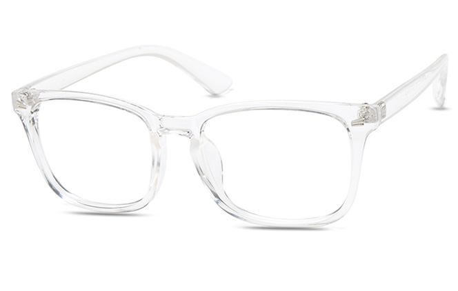 Annabell Rectangle Eyeglasses, Clear