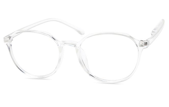 Alyssa Oval Eyeglasses, Tortoiseshell;clear;blue;floral