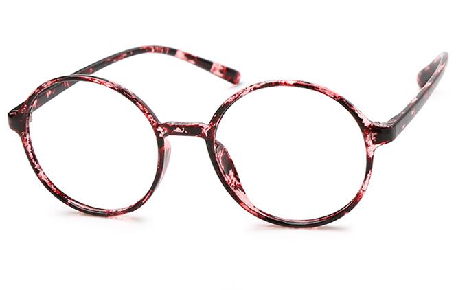 Brigitte Round Eyeglasses, Black;tortoiseshell;floral;blue;clear