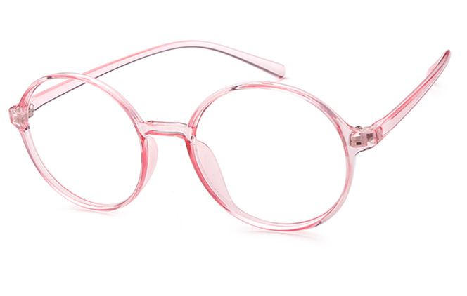 Brigitte Round Eyeglasses, Pink;black;tortoiseshell;floral
