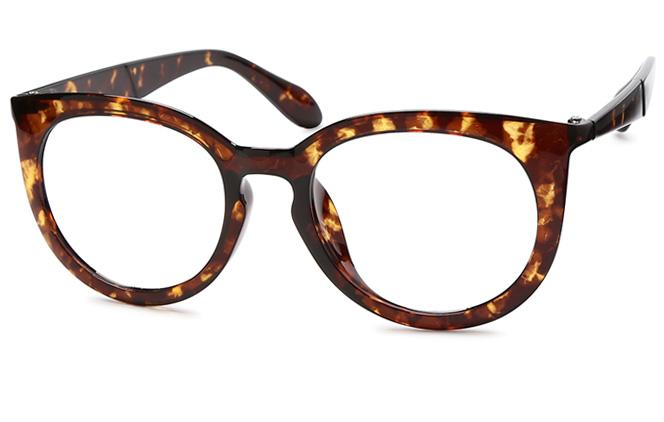 Elisa Oval Eyeglasses, Black;black&tortoiseshell;tortoiseshell