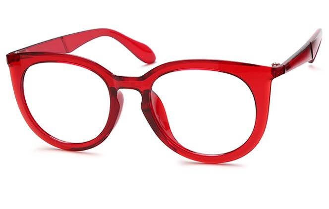 Elisa Oval Eyeglasses, Black;black&tortoiseshell;tortoiseshell;red