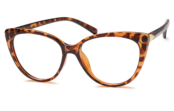 Fiona Cateye Eyeglasses, Black;brown;clear;pink;red;tortoiseshell