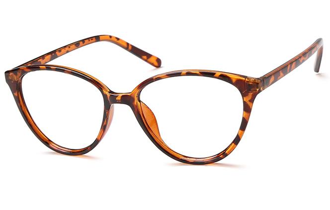 Hebe Cateye Eyeglasses, Ink;purple;tortoiseshell